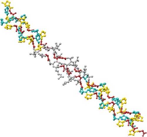 Struktura potrójnej helisy kolagenu